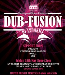 DUB FUSION - MAY 25TH