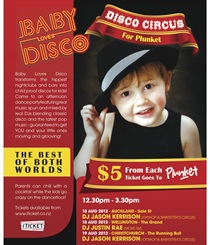BABY LOVE DISCO - DISCO CIRCUS FOR PLUNKET - CHCH