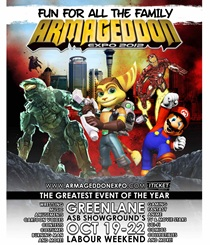 ARMAGEDDON EXPO 2012 - GENERAL EVENT TICKETS