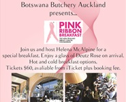 Pink Ribbon Breakfast At Botswana Butchery