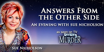 SUE NICHOLSON - Answers From The Other Side - Nelson