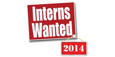 """Interns Wanted"" 2014"