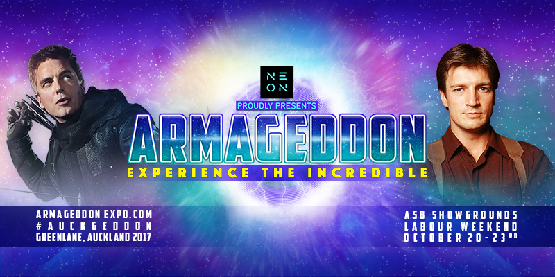 ARMAGEDDON EXPO - General Event Tickets