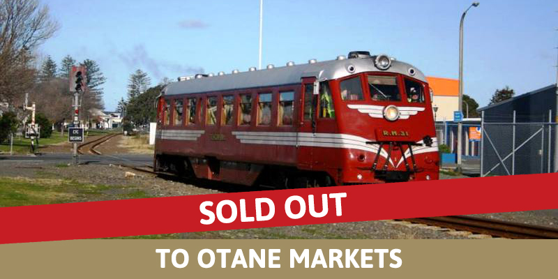 Railcar - Sunday to Otane Market