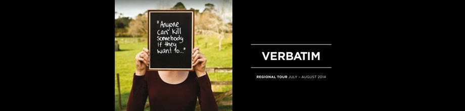 VERBATIM Regional Tour